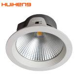 暖かく白い円形LED Downlight 35Wを薄暗くする8インチのトライアック