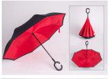 Выдвиженческий подарок Handsfree прямое обратное перевернутое Umbrella-004
