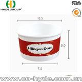 Одноразовые Haagen-Dazs Мороженое чашу бумаги с крышкой