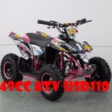 Modelo nuevo optimista 49cc mini ATV para el patio de los cabritos 49cc barato para la venta al por mayor