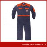 Combinaison personnalisée de travail de sergé de polyester de coton de mode (W04)
