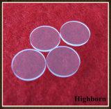 Surtidor redondo de la placa del disco del vidrio de cuarzo del polaco claro del fuego