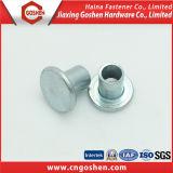 Parafuso de cabeça plana de alta qualidade rebite sólida de aço de alumínio
