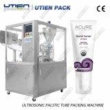 Máquina de relleno del lacre de la cara del acondicionador limpio completamente automático del gel