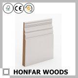 Panneau de bordage européen en bois solide de type pour le décor de plancher