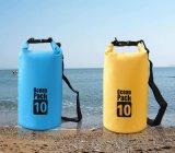 カスタムロゴ屋外PVC防水シートの防水乾燥した袋の海洋のパック