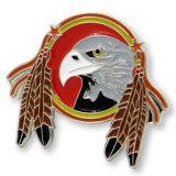 O logotipo personalizado do Eagle Pin de lapela emblema militar (HST-BS-110)