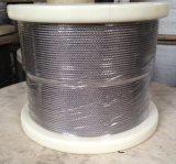 Antimagnetisches Drahtseil 1X19, Durchmesser 1.5mm des Edelstahl-316