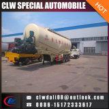 반 40-60cbm 3 차축 시멘트 분말 탱크 트레일러 트럭