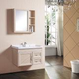 Governo di legno di alluminio di vanità di colore del nuovo spazio rispettoso dell'ambiente materiale per la stanza da bagno