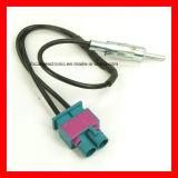 Fiche et Jack de Jaso, mâle de Jaso et câble de connecteur d'antenne de véhicule de femelle