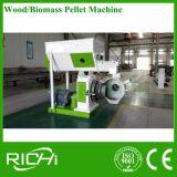 Pelota de madeira de Bioamss da palha da grama seca que faz a máquina