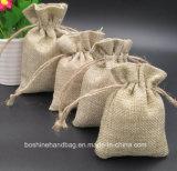 Petite vente en gros de sac de cordon de jute de sacs de café de toile de jute de sac à toile de jute