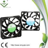 вентилятор DC 60X60X10mm с 3 циркуляционным вентилятором проводов 6010 охлаждая
