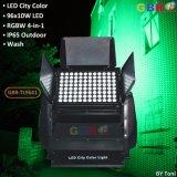 Gbr-Tl9641 96X10W RGBW 4in1 LED都市カラー洗浄ライト