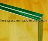 PVBの中間膜Rongshunxiangが付いているカスタマイズされた薄板にされたガラス10.38mm