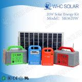 Whc 20W DC Kit de iluminación de la energía solar