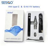 Type neuf de Vhit de mode de Seego fil de C Vape Bakero avec le réservoir en verre