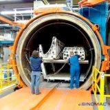 2000x8000mm aquecimento eléctrico Composites Autoclave para reparação composto de aeronaves