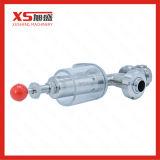 SS316L de acero inoxidable Válvulas de alivio de presión de la Cruz higiénica
