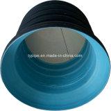 HDPE doppel-wandiges gewölbtes Rohr für Wasser-Entwässerung