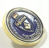 Pin su ordinazione del risvolto della decorazione di marchio dell'emblema del randello del metallo dell'OEM (XD-0707-22)