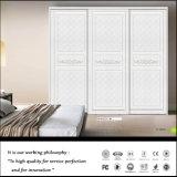 2016 de Moderne Witte Glijdende Garderobe van het Contrast van de Kleur van het Blind