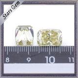 형식 보석을%s 대 밝은 노란색 다채로운 Moissanite