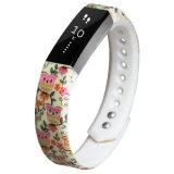 Fitbit 알타를 위한 OEM 실리콘고무 팔찌 시계 줄 결박