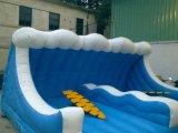 Игра Surfboard большой волны механически раздувная двойная