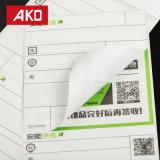 Étiquettes froides directes de logistique d'étiquettes d'expédition de région froide de transport de papier thermosensible