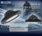 5 años de garantía UFO 100W de alta de la luz de la Bahía de LED para almacén taller