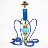 Zink-Legierungs-materielle Huka-Wasser-Rohr GlasShisha Pfeife E-Zigarette mini elektronische Cigarett Glaswasser-Rohrvaporizer-Huka Shisha