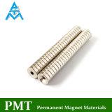 N42 de Magneet van NdFeB van de Ring van D10*D3*3 met Permanent Magnetisch Materiaal