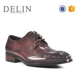 Diseño de Moda formal de negocios de los hombres zapatos de vestir de cuero