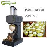 Gyc automatische junge grüne Diamant-Form-Kokosnuss-Schalepeeler-Maschine