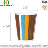 12oz de taza de café rizado desechables de papel (12oz)