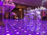 Weltoberseite, die super dünnes und bewegliches 60*60 LED Digital Dance Floor verkauft