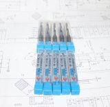 Alta precisión, HRC45/55/60/65 Flauta sola fresas de carburo sólido para corte de alta velocidad se utiliza en torno CNC personalizado disponible