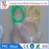 PVC flexible de colores el vinilo transparente el tubo de drenaje del aire acondicionado