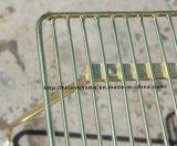 Metallo del giardino della mobilia di svago che pranza la presidenza laterale del ristorante del collegare