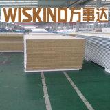 """Panneau """"sandwich"""" de laines de verre de Wiskind pour le mur ou le toit"""