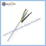 309-Y à 4 coeurs de 1,5 mm Blanc 3094y (H05V2V2-F) Câble flexible résistant à la chaleur ronde Flex