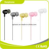 3.5m m vendedores calientes ataron con alambre en el auricular Headpset móvil del oído con el Mic