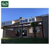 Telhado de alumínio do pátio da casa pré-fabricada forte do policarbonato da estrutura