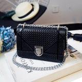 Diseño clásico mochila bandolera pequeña dama elegante de alta calidad de la marca de cuero de PU Bolsa Crossbody SY8579