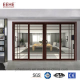 Hochleistungsaluminiumfalz-Tür-Glasbi-Falten-Türen