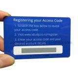 Rasguño de encargo del PVC de la tarjeta del teléfono de la recarga de la impresión de la tarjeta