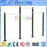 Equipo al aire libre doble inoxidable de calidad superior de la aptitud de la barra horizontal para la venta