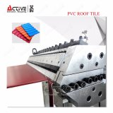 각자 청소 플라스틱 PVC 기와 압출기 기계